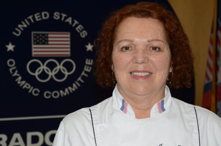 Jacqueline Hamilton, CEC, AAC, executive chef, U.S. Olympic Committee