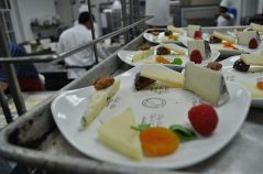 Wisconsin cheese dessert plate