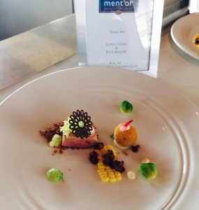 Siegel's dish for judges
