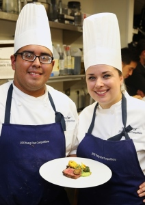 Mark Garcia (left) and Kathryn Eurich (right). Photo courtesy of ment'or BKB.