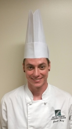 Jonah Bucy , of Fort Mill, South Carolina, competing for Student Chef of the Year.
