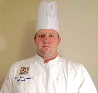 Stephen Bush, of Naples, Florida, competing for Chef of the Year.