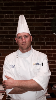 Ted Polfelt, CEC, CCA, of Roanoke, Virginia, competing for Chef of the Year.