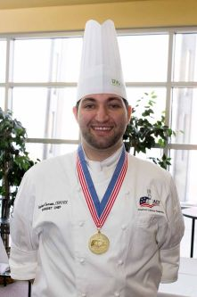 Andrew Corrao, CCC, CEPC - ACF Western Region Pastry Chef of the Year
