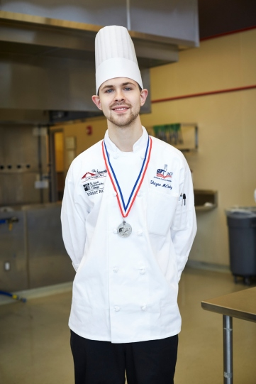 Shayne McCrady - ACF Central Region Student Chef of the Year