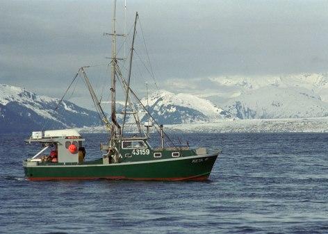 Scenic Fishing Alaska Cod